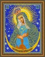 «Светлица» набор для вышивания бисером 8419 «Прсв. Богородица Остробрамская» бисер Чехия 1924см (1шт) цвет:8419