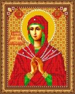 «Светлица» набор для вышивания бисером 8370 «Прс.Богородица Семистрельная» бисер Чехия 1924см (1шт) цвет:8370