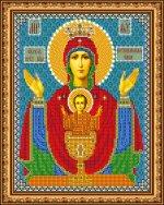 «Светлица» набор для вышивания бисером 8385 «Прсв.Богородица Неупиваемая Чаша» бисер Чехия 1924см (1шт) цвет:8385