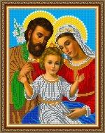 «Светлица» набор для вышивания бисером 8352 «Святое Семейство» бисер Чехия 1924см (1шт) цвет:8352