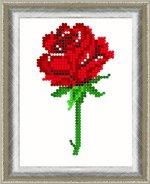 «Диамант» набор со стразами ДВ-003 «Роза» 1013см (1шт) цвет:ДВ-003