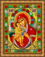«Диамант» набор со стразами Д-300 «Прсв. Богородица Жировицкая» 2430.5см (1шт) цвет:Д-300