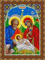 «Светлица» набор для вышивания бисером 8391М «Рождество Христово» бисер Чехия 1216см (1шт) цвет:8391М