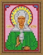«Светлица» набор для вышивания бисером 8301Л «Св. Матрона» бисер Чехия 67,5см (1шт) цвет:8301Л