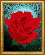 «Диамант» набор со стразами ДВ-009 «Роза» 1013см (1шт) цвет:ДВ-009