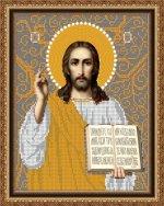 «Светлица» набор для вышивания бисером 8458 «Господь Вседержитель» бисер Чехия 1924см (1шт) цвет:8458