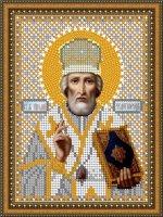 «Светлица» набор для вышивания бисером 8459М «Св. Николай Угодник» бисер Чехия 1216см (1шт) цвет:8459М