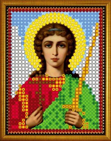 «Диамант» набор со стразами ДЛ-304 «Св. Ангел Хранитель» 7,59,5см (1шт) цвет:ДЛ-304